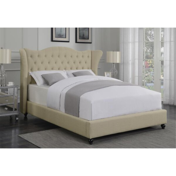 Steinway Upholstered Standard Bed By Canora Grey