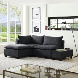 Brás 4 Piece Down Feather Living Room Set by Latitude Run®