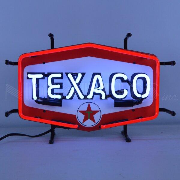 Texaco Hexagon Junior Wall Light by Neonetics