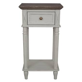 Kelly Clarkson Home Antonella End Table With Storage Reviews Wayfair