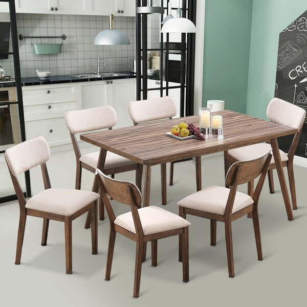 Eberhart 7 Piece Dining Set by George Oliver