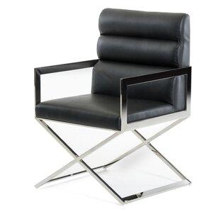 Clower Modern Upholstered Arm Chair by Orren Ellis