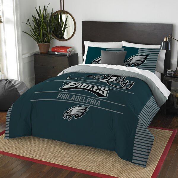 NFL Draft 3 Piece Full/Queen Comforter Set by Northwest Co.