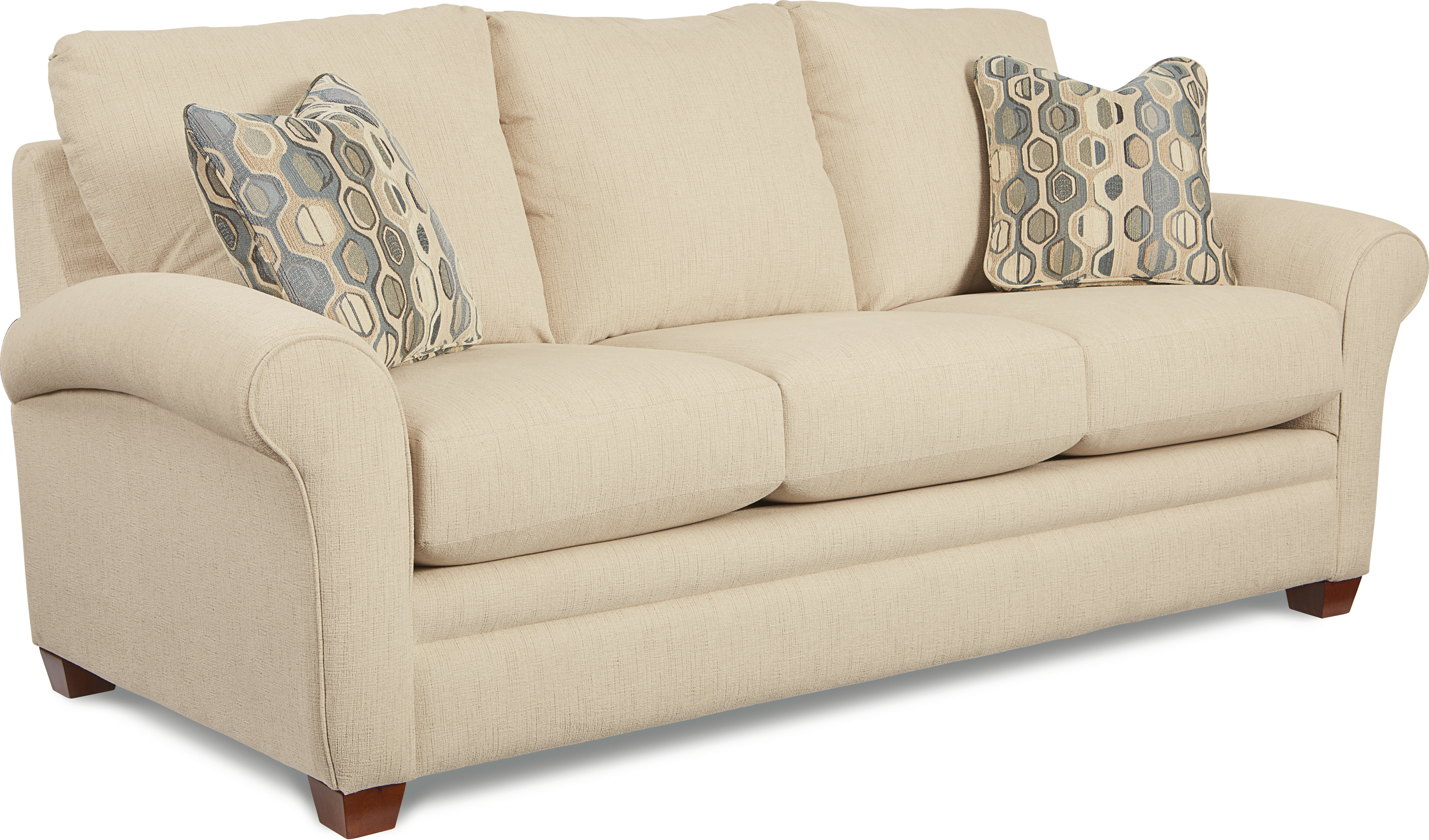 Picture of: La Z Boy Natalie Sofa Bed 86 Round Arm Sleeper Reviews