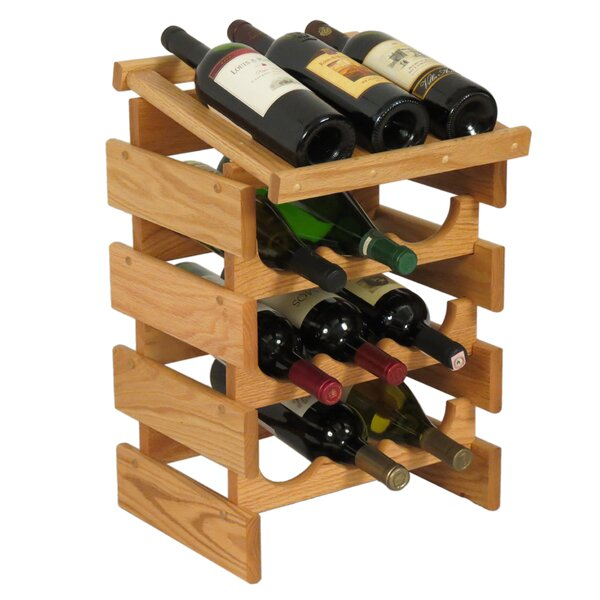 Dakota 12 Bottle Floor Wine Rack By Wooden Mallet by Wooden Mallet Looking for