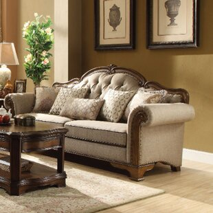 Mundell Royal Wooden Sofa