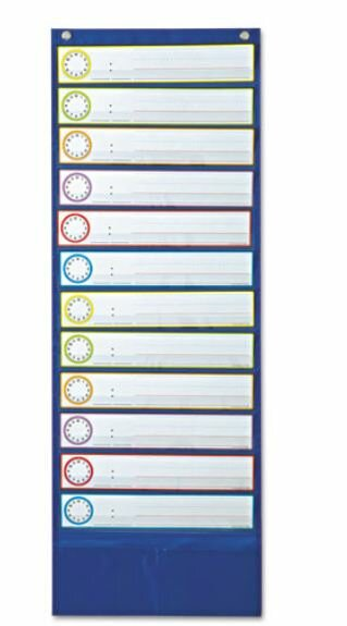 Deluxe Scheduling Pocket Chart by Carson-Dellosa Publishing