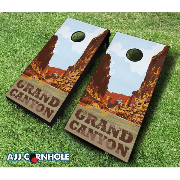 Grand Canyon Cornhole Set by AJJ Cornhole