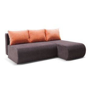 Ecksofa Optima mit Bettfunktion von Home Loft C..