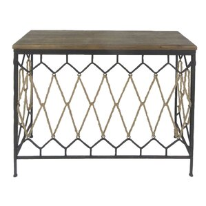 Gregory Wood/Metal Console Table by Union Rustic