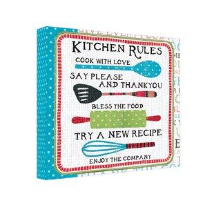Greeting card keepsake album wayfair kitchen rules recipe card album m4hsunfo