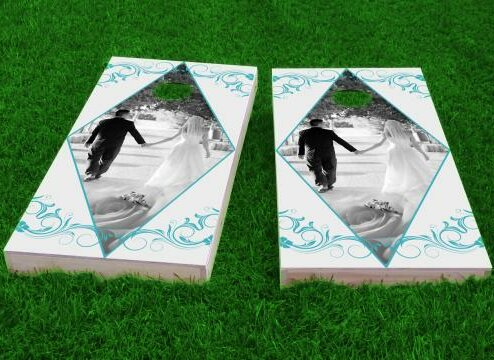 Wedding Cornhole Game (Set of 2) by Custom Cornhole Boards