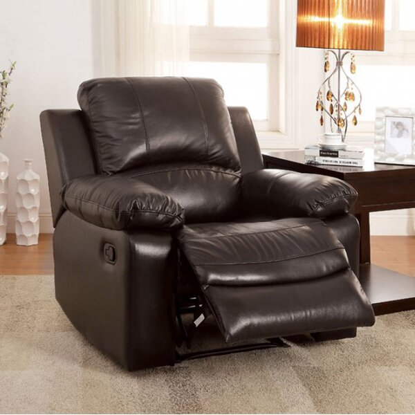 Rifat Leather Standard Rocker Recliner [Red Barrel Studio]