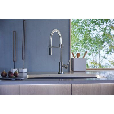 Kitchen Faucet Touch Single Handle Docking Toucho Arctic photo