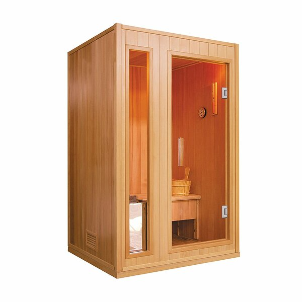 2 Person Traditional Steam Sauna by ALEKO