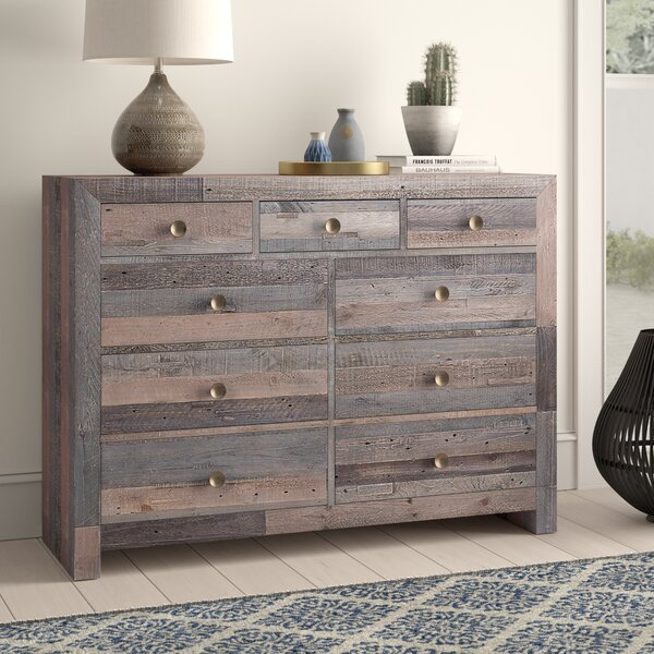 Abbey 9 Drawer Dresser by Mistana