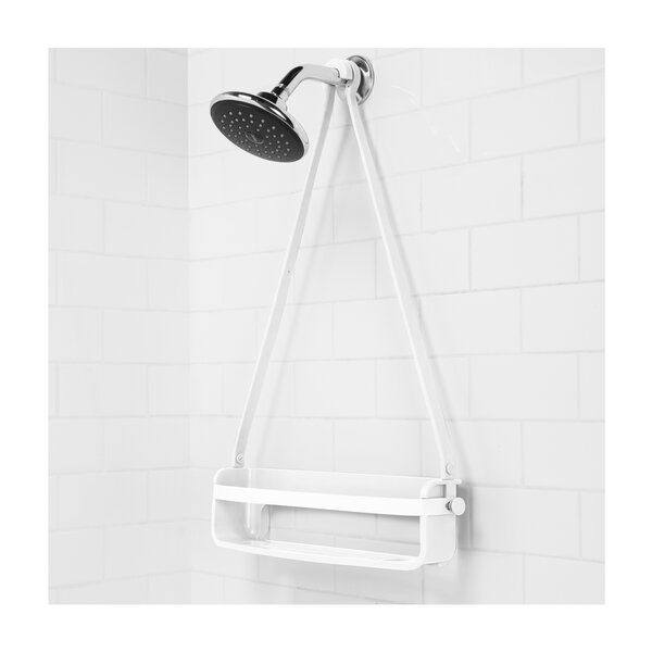 Flex Rubber/Plastic Hanging Shower Caddy by Umbra