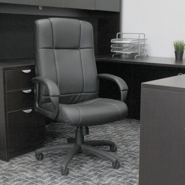 High Back  Executive Chair by Boss Office Products