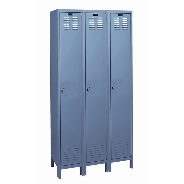 ValueMax 1 Tier 3 Wide School Locker by HallowellValueMax 1 Tier 3 Wide School Locker by Hallowell