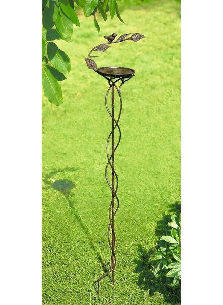 Garden Stake Tray Bird Feeder by Pier Surplus