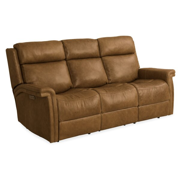 Poise Leather Reclining Sofa By Hooker Furniture