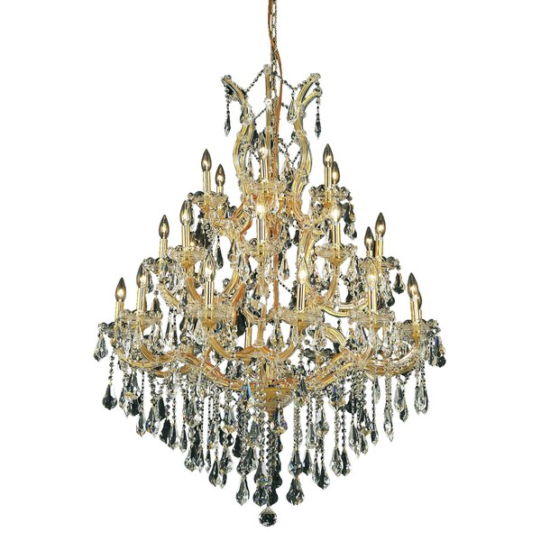 Regina 28 - Light Candle Style Tiered Chandelier By House Of Hampton