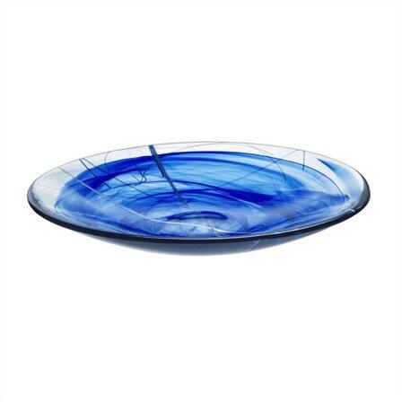 Contrast Platter by Kosta Boda