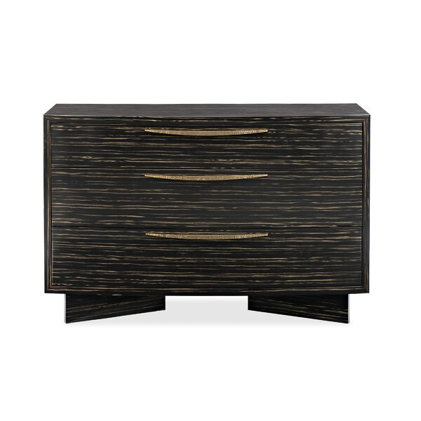 Modern Edge Vector 3 Drawer Chest by Caracole Modern
