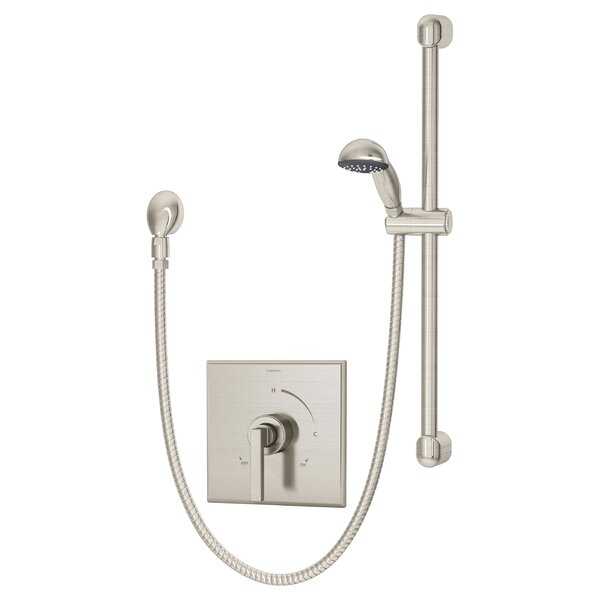 Duro Pressure Balance Hand Shower Unit with Lever Handle by Symmons