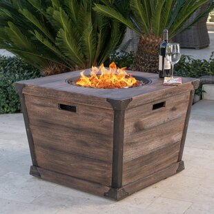 Affordable Coomes Stone Propane Fire Pit Table By 17 Stories