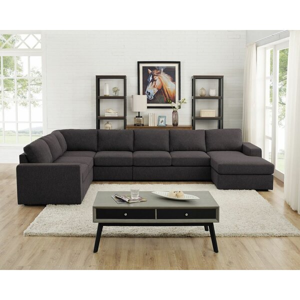 Buy Online Top Rated Kairi Reversible Modular Sectional by Ivy Bronx by Ivy Bronx