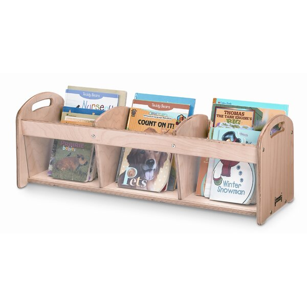 See-Thru Toddler 3 Compartment Book Display by Jonti-Craft