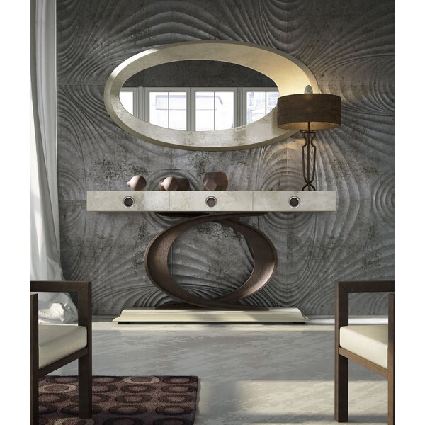 Shoping Omeo Console Table And Mirror Set (Set Of 2)