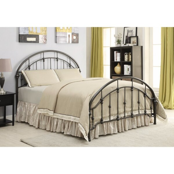 Ovard Fine-Looking Metal Curved Queen Platform Bed by Gracie Oaks
