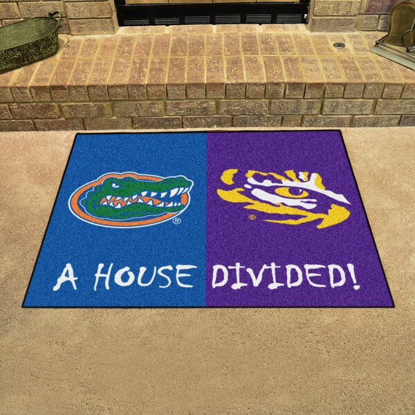 House Divided - Florida / LSU Doormat by FANMATS