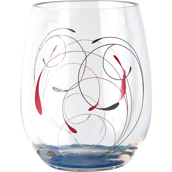 Splendor 16 oz. Acrylic Stemless Wine Glass (Set of 4) by Corelle
