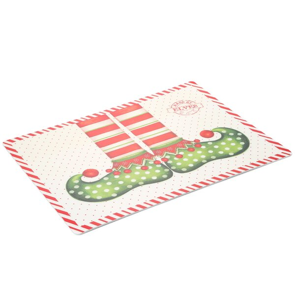 Elf Shoes Expanded Placemat (Set of 4) by Carnation Home Fashions