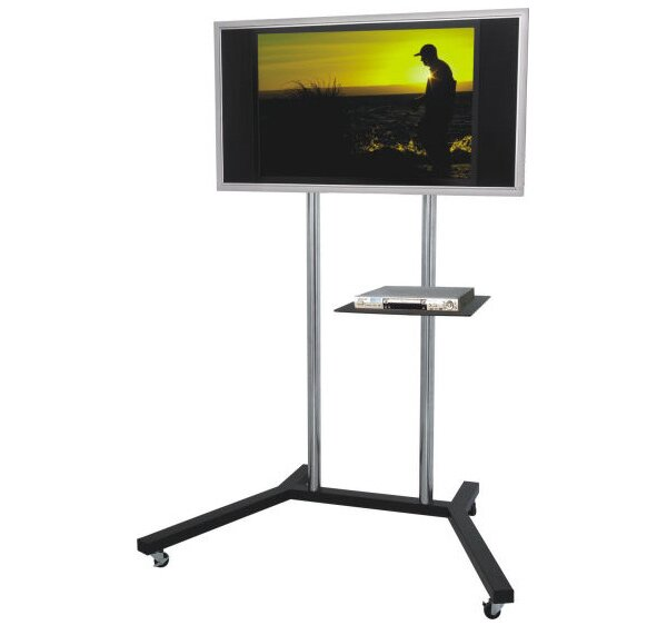 Trolley Fixed Floor Stand Mount for 30-50 LCD / Plasma Screens by MonMount