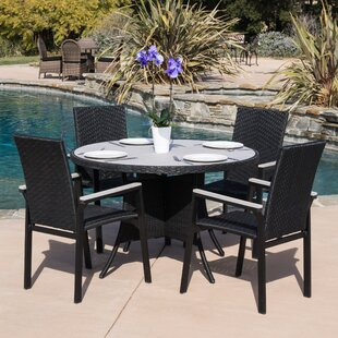 Freeport 5 Piece Dining Set By Home Loft Concepts