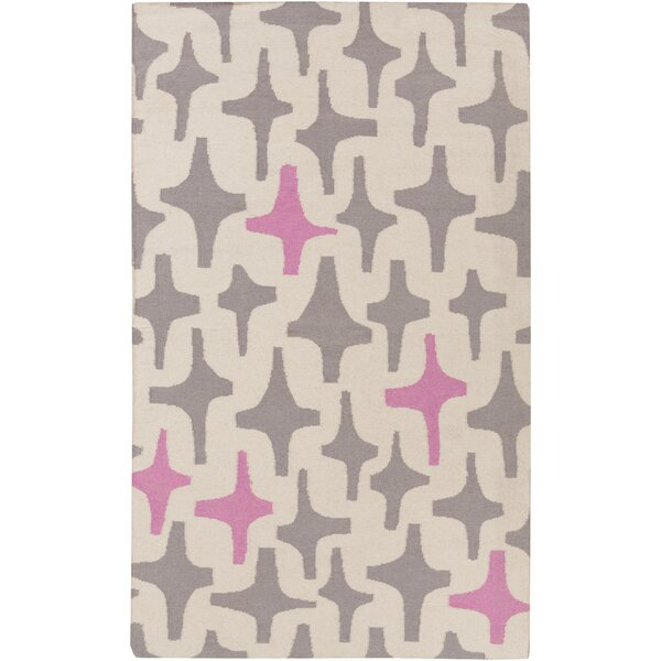 Textila Light Gray Area Rug by Lotta Jansdotter