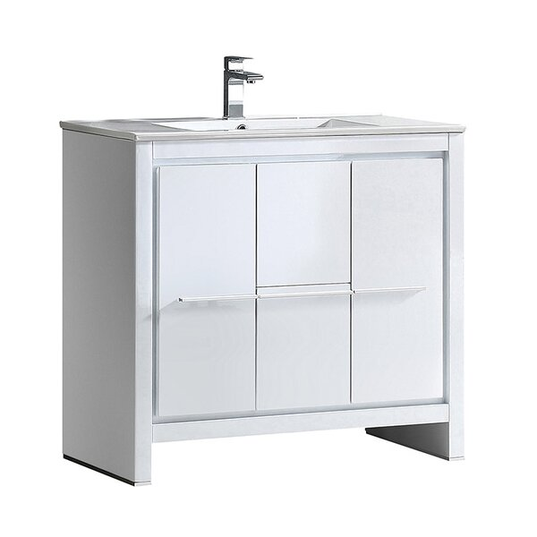 Allier 35 Single Bathroom Vanity Set by Fresca