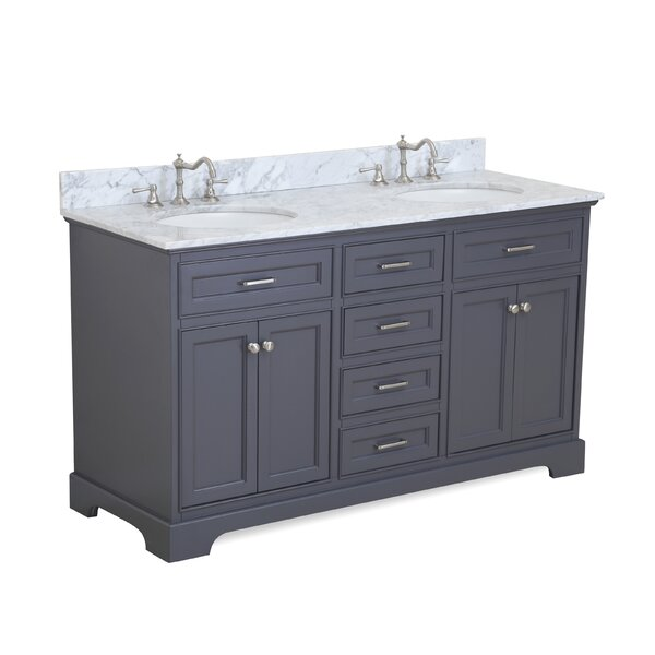 Aria 60 Double Bathroom Vanity Set by Kitchen Bath Collection