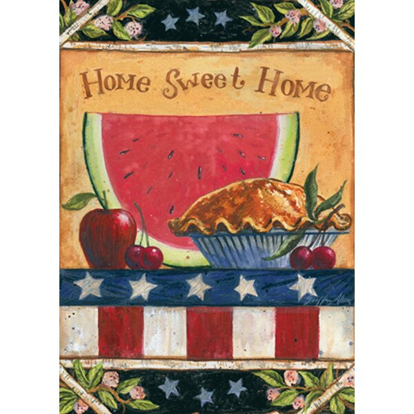 American Folk Garden flag by Toland Home Garden