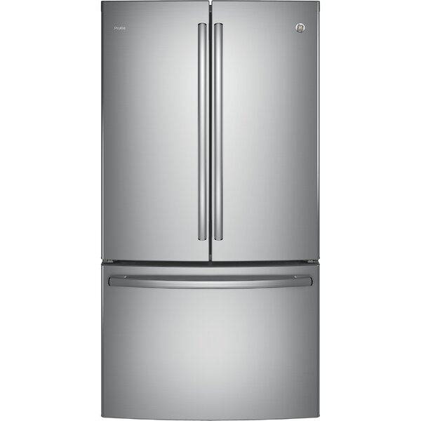 23.1 cu. ft. Energy Star® Counter Depth French Door Refrigerator by GE Profile™