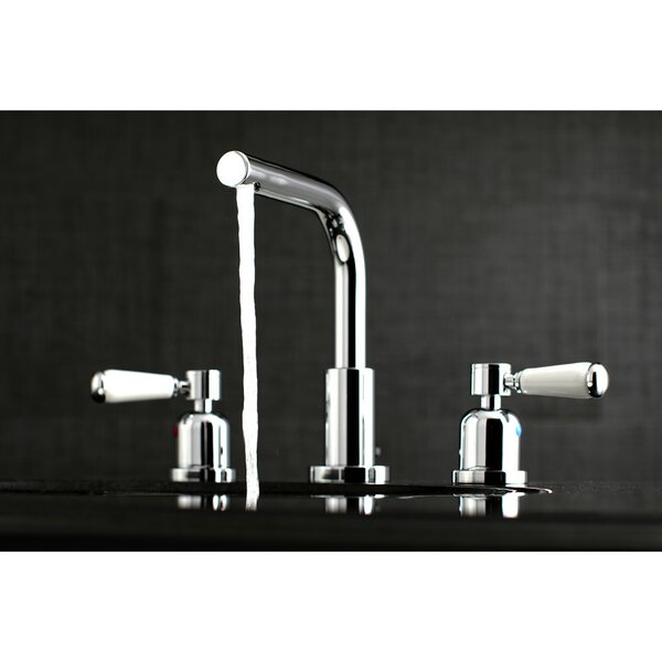 Paris Widespread Bathroom Faucet With Drain Assembly By Kingston Brass