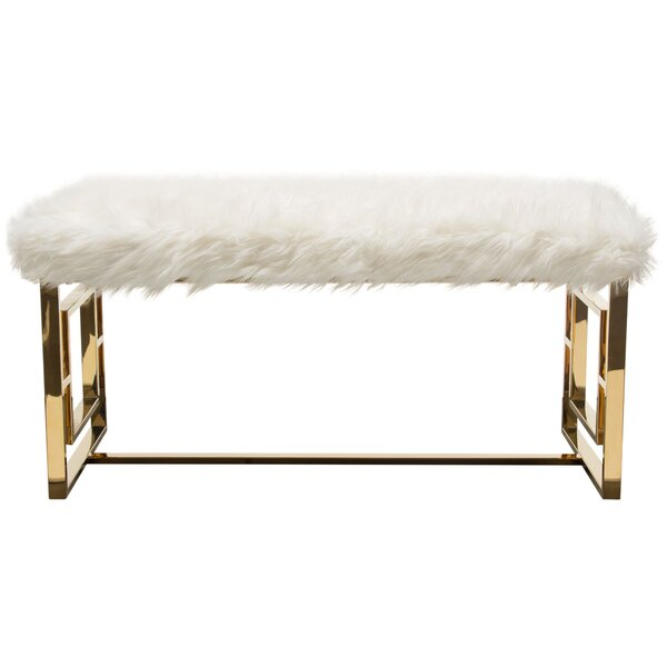 Audrey Upholstered Bench By Diamond Sofa by Diamond Sofa New