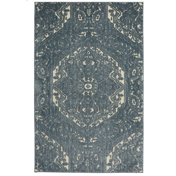 Genova Blue Area Rug by Darby Home Co