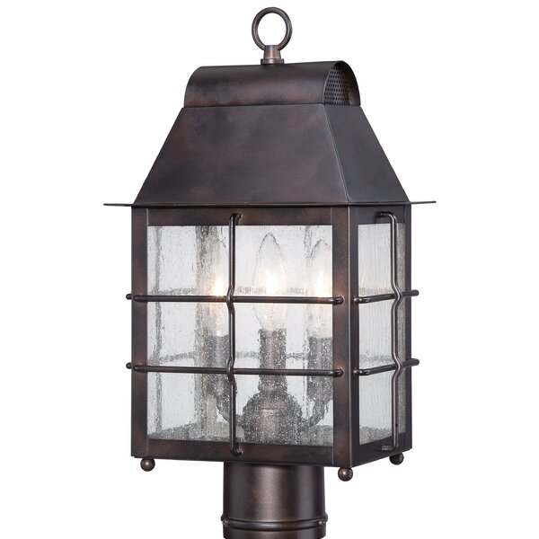 Willow Pointe Outdoor 3-Light Lantern Head by Minka Lavery