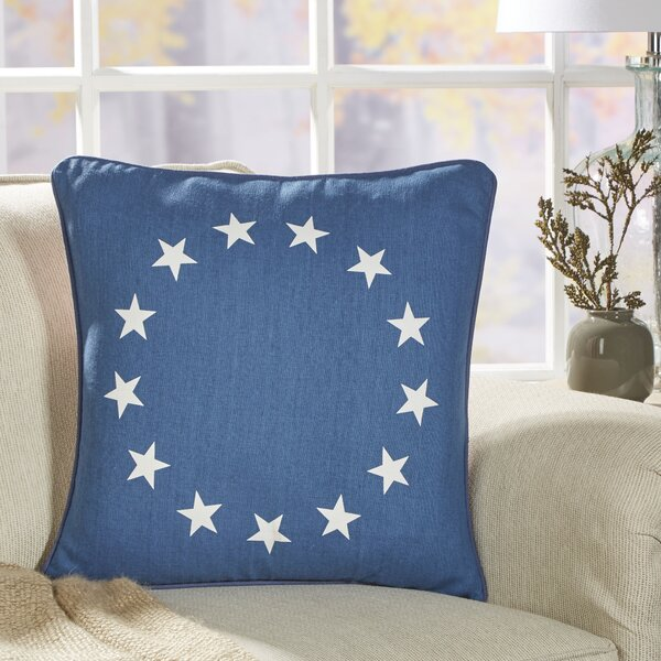 Justice Patriotic Pillow Cover by Birch Lane™