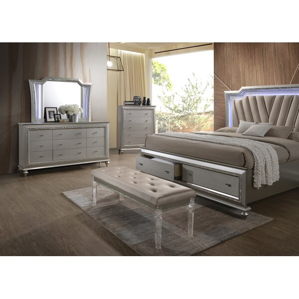 Echols Upholstered Storage Platform Bed by Mercer41